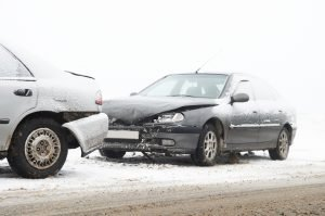 Snow and ice accident, Frederick Auto Body, Rear end collision, bad weather, snowstorm